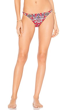Pretty Tough Vamp Bikini Bottom in Ruby