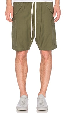 NLST Cargo Shorts in Olive Drab