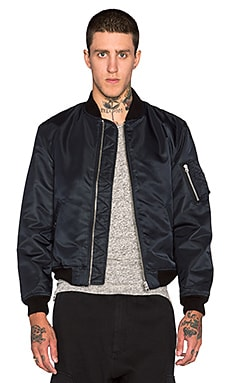 NLST MA 1 Flight Jacket in Navy