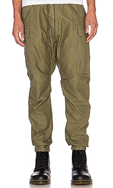 NLST Cargo Pants in Olive Drab