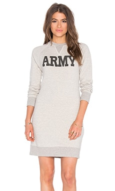 Army Sweatshirt Dress