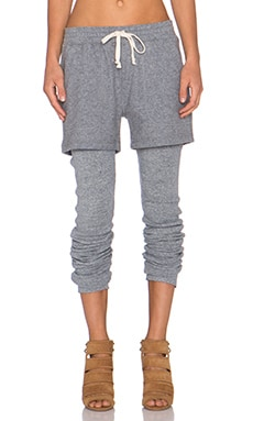 NLST Short & Legging in Heather Grey