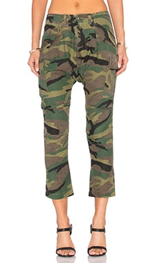 NLST Harem Cargo Pant in Camo