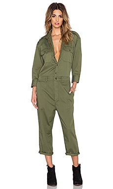 NLST Officer Jumpsuit in Olive Drab