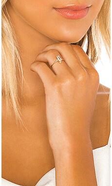 Alya Green Amethyst Stone Ring Natalie Marie Jewellery $311