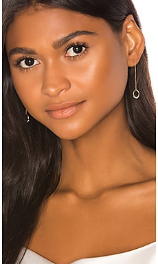 Mahina Pearl & Diamond Stone Drop Studs Natalie Marie Jewellery $811