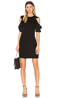 Open Shoulder Shift Dress