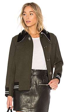 Letterman Jacket With Velvet Collar No. 21 $245 Collections
