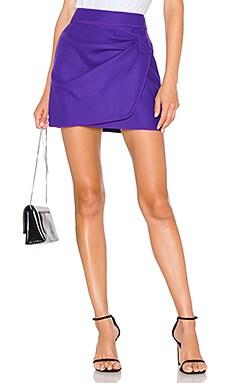 Ruched Mini Skirt No. 21 $143