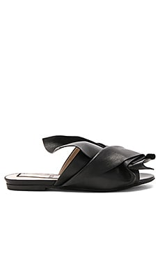 Bow Slide in Nero