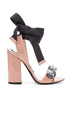 Tie Ankle Gem Heel