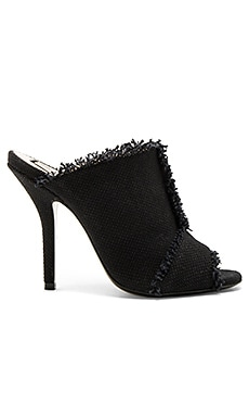 Frayed Mule in Nero