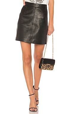 Classic Leather Skirt