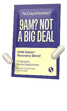 DHM Detox Recovery Blend No Days Wasted $34