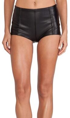 NOE Undergarments Edward Leather Shortie in Black