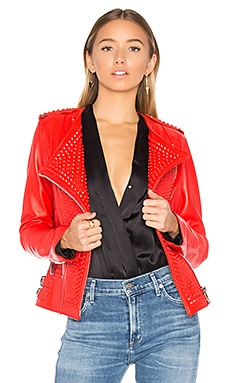 Erin Jacket in Red