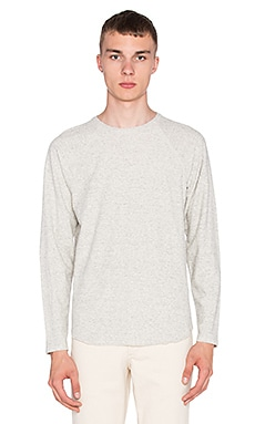 Norse Projects Aske Textured Jersey Knit in Iron