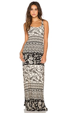 NOVELLA ROYALE Babs Maxi Dress in Black Hazely