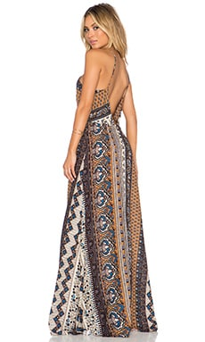 NOVELLA ROYALE Summerland Maxi Dress in Sienna Tangler