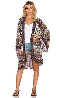 NOVELLA ROYALE x REVOLVE Hitch Hiker Kimono in Sienna Tangier