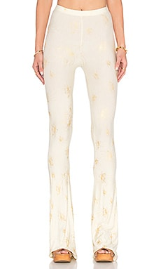 Janis Pants in Gold Lilly