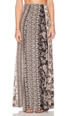 NOVELLA ROYALE Susi Maxi Skirt in Black Hazely