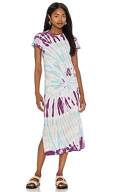Zelda Twisted Knot Tee Dress NSF $250