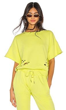 Brooke Short Sleeve Crew Sweatshirt NSF $225