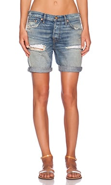 NSF Jane Short in Razor Wash