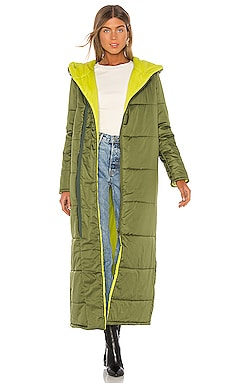 Francine Full Length Puffer Jacket NSF $203