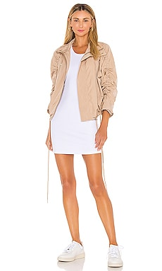 Aya Mock Neck Jacket NSF $314