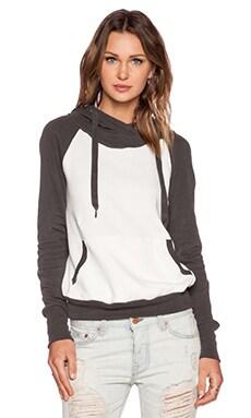 NSF Lisse Sweatshirt in Charcoal Colorblock
