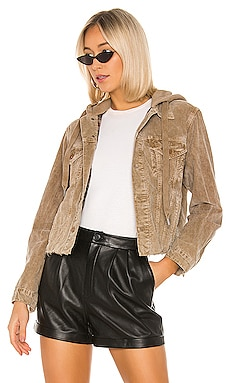 Rusty Crop Hooded Jacket NSF $398