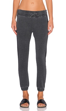 NSF Tweed Sweatpant in OD Pigment Black