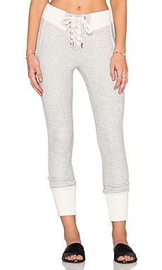 NSF Maddox Pant in Heather Grey & Scour