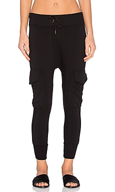 NSF Smith Pant in Black