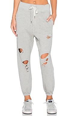 NSF Sayde Pant in Heather Grey