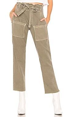 Купить Укороченные брюки faro - NSF оливкового цвета