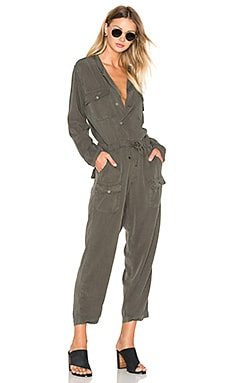 Miche Jumpsuit in Pigment OD Green