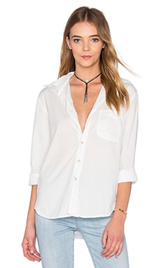 Axel Button Down en Blanc Doux