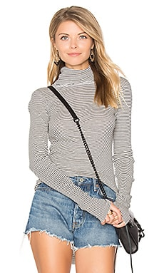 Jaqui Stripe Turtleneck