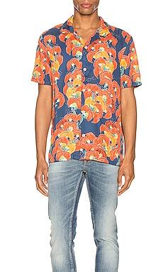 Arvid Flowers Short Sleeve Shirt Nudie Jeans $159
