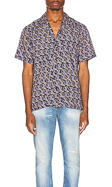 CHEMISE ARVID HAWAII LOGO BAY Nudie Jeans $126