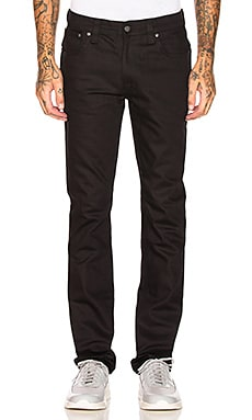 Nudie Jeans Thin Finn en Org. Black Ring