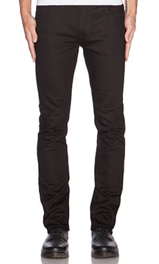 Tight Long John in Org. Black