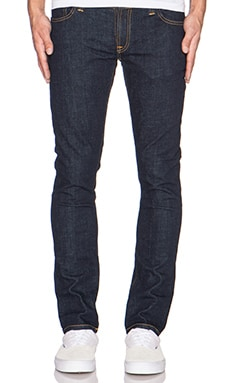 Nudie Jeans Tight Long John in Org. Twill Rinsed