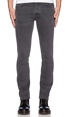 Nudie Jeans Grim Tim in Org Steamy Grey