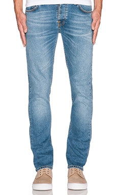 Nudie Jeans Grim Tim in Blue Shore