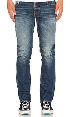 Nudie Jeans Grim Tim in Flat Cross