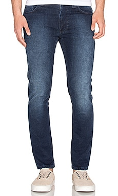 Nudie Jeans Lean Dean in Deep Cobalt